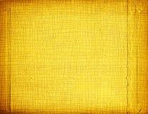Papel ondulado del oro Fotos de archivo