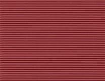 Papel ondulado vermelho - alta resolução Fotografia de Stock Royalty Free
