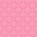 Papel ornamentado cor-de-rosa Imagem de Stock