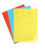 Papel para cartas (com trajeto) Fotografia de Stock