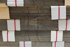 Papel para el material de fabricación. Foto de archivo libre de regalías
