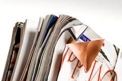 Papel para reciclar Imagen de archivo libre de regalías