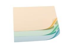 Papel pastel com cantos ondulados Imagem de Stock Royalty Free