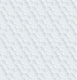 Papel perforado blanco Foto de archivo