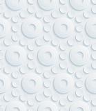 Papel perforado blanco Imagen de archivo