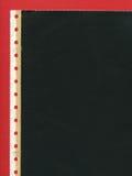 Papel perforado de copia a carbón Fotografía de archivo libre de regalías