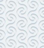 Papel perfurado branco Foto de Stock Royalty Free