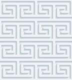 Papel perfurado branco Fotos de Stock Royalty Free