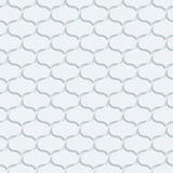 Papel perfurado branco Imagens de Stock Royalty Free