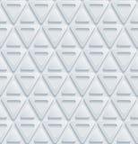 Papel perfurado branco Fotos de Stock