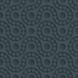 Papel perfurado escuro Imagem de Stock Royalty Free