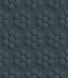 Papel perfurado escuro Imagens de Stock