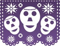 Papel Picado Stockbilder