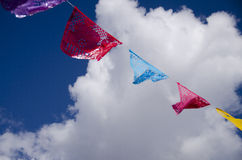 Papel Picado Clouds and Sky Royalty Free Stock Photos