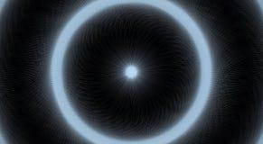 Túnel Vision stock de ilustración