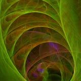 Papel pintado abstracto del fractal con diferente y muchas formas Imágenes de archivo libres de regalías