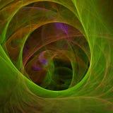 Papel pintado abstracto del fractal con diferente y muchas formas Foto de archivo