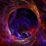 Papel pintado abstracto del fractal con diferente y muchas formas Imagenes de archivo