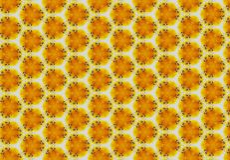 Papel pintado abstracto del modelo de la abeja Imagen de archivo libre de regalías
