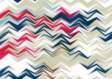 Papel pintado abstracto del zigzag Fotos de archivo