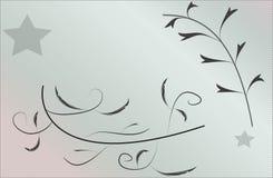 Papel pintado abstracto floral del fondo fotografía de archivo