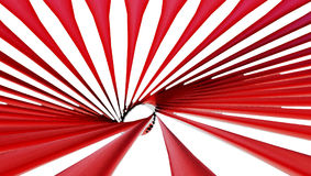 Papel pintado abstracto rojo del fondo del remolino Foto de archivo libre de regalías