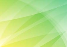 Papel pintado abstracto verde y amarillo del fondo Stock de ilustración