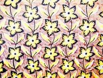 Papel pintado amarillo Foto de archivo
