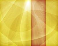 Papel pintado amarillo-naranja Foto de archivo
