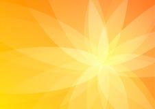 Papel pintado anaranjado abstracto del fondo Stock de ilustración