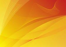 Papel pintado anaranjado abstracto del fondo Ilustración del Vector