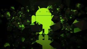 Papel pintado androide Foto de archivo libre de regalías