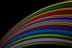 Papel pintado artístico del fondo del color Imágenes de archivo libres de regalías
