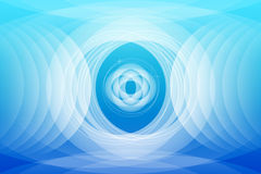 Papel pintado azul abstracto del fondo Imágenes de archivo libres de regalías