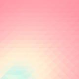 Papel pintado bajo del fondo del polígono del mosaico colorido Illustr del vector Foto de archivo