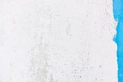 Papel pintado blanco del color con un poco color azul Fotos de archivo