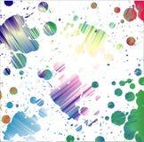 Papel pintado brillante de punto. Fotos de archivo