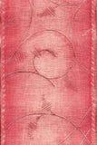 Papel pintado clásico rojo Foto de archivo