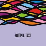 Papel pintado con las líneas Imagen de archivo libre de regalías