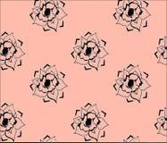 Papel pintado con las rosas Imagen de archivo libre de regalías