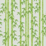 Papel pintado de bambú inconsútil Fotografía de archivo