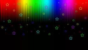 Papel pintado de la aurora Fotos de archivo