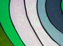 Papel pintado de la curva del color fotografía de archivo libre de regalías