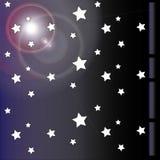 Papel pintado de la estrella Imágenes de archivo libres de regalías