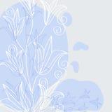 Papel pintado de la flor Fotos de archivo libres de regalías