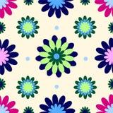 Papel pintado de la flor de la vendimia Imágenes de archivo libres de regalías