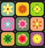 Papel pintado de la flor del resorte Imagen de archivo libre de regalías