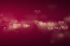 Papel pintado de la iluminación del corazón Fotografía de archivo libre de regalías