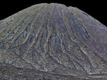 Papel pintado de la montaña Imagen de archivo libre de regalías