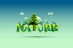 Papel pintado de la naturaleza Imágenes de archivo libres de regalías